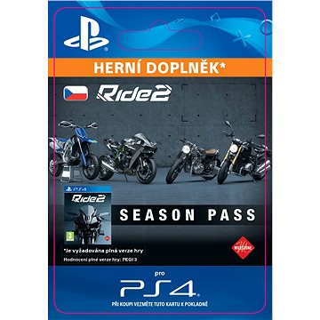 Ride 2 Season Pass - PS4 CZ Digital (SCEE-XX-S0028146)