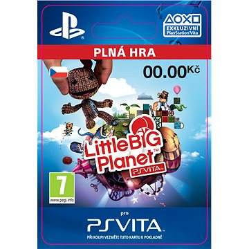 LittleBigPlanet PlayStation Vita Marvel Super Hero Edition - PS Vita CZ ESD (SCEE-XX-S0020295)