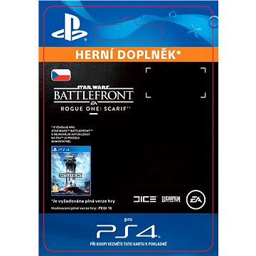 Star Wars Battlefront Rogue One: Scarif - PS4 CZ Digital (SCEE-XX-S0028802)