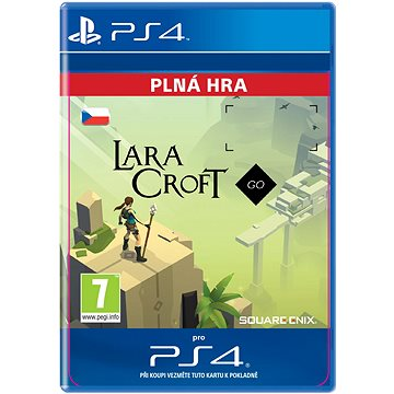 Lara Croft GO - PS4 CZ Digital (SCEE-XX-S0028848)