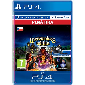 Werewolves Within - PS4 CZ Digital (SCEE-XX-S0028877)