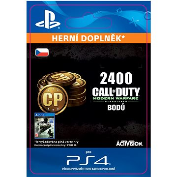 2,400 Call of Duty: Modern Warfare Remastered - PS4 CZ Digital (SCEE-XX-S0029519)