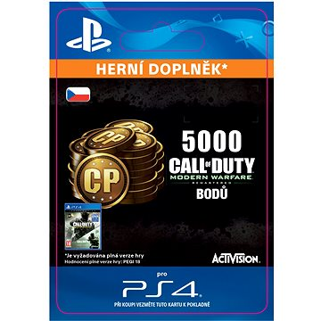 5,000 Call of Duty: Modern Warfare Remastered - PS4 CZ Digital (SCEE-XX-S0029493)