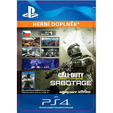 Call of Duty: Infinite Warfare DLC 1: Sabotage - PS4 CZ Digital (SCEE-XX-S0029602)