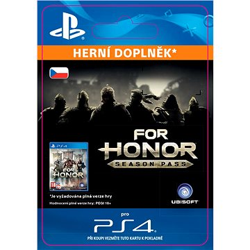 FOR HONOR SEASON PASS - PS4 CZ Digital (SCEE-XX-S0029646)
