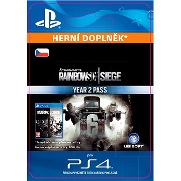 Tom Clancys Rainbow Six Siege Year 2 Pass - PS4 CZ ESD (SCEE-XX-S0029697)