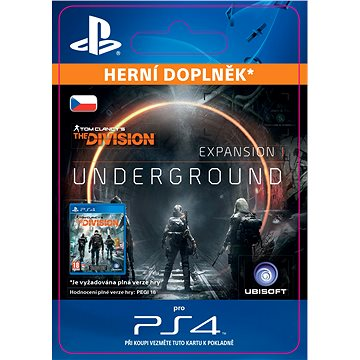 TOM CLANCYS THE DIVISION underground- SK PS4 Digital (SCEE-XX-S0026157)