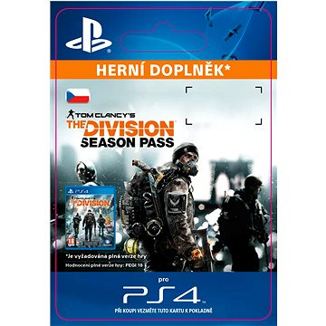 Tom Clancys The Division - Season Pass- SK PS4 Digital (SCEE-XX-S0023709)