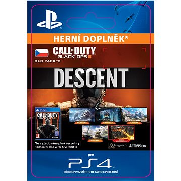 Call of Duty: Black Ops III - Descent DLC - SK PS4 ESD (SCEE-XX-S0025829)