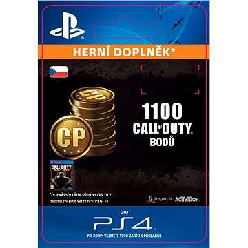 1,000 (+100 Bonus) Call of Duty Points - SK PS4 Digital (SCEE-XX-S0023020)