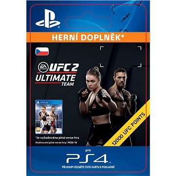 EA SPORTS UFC 2 - 750 UFC POINTS- SK PS4 Digital (SCEE-XX-S0024048)