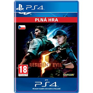 RESIDENT EVIL 5- SK PS4 ESD (SCEE-XX-S0025534)