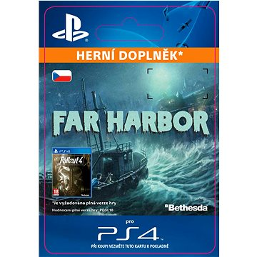 Fallout 4: Far Harbor- SK PS4 ESD (SCEE-XX-S0025181)