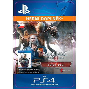 The Witcher 3: Wild Hunt Blood and Wine- SK PS4 ESD (SCEE-XX-S0025246)