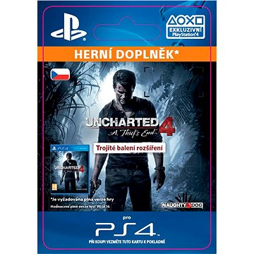 Uncharted 4: A Thiefs End Triple Pack Expansion- SK PS4 Digital (SCEE-XX-S0024857)