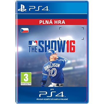 MLB The Show 16- SK PS4 Digital (SCEE-XX-S0024484)