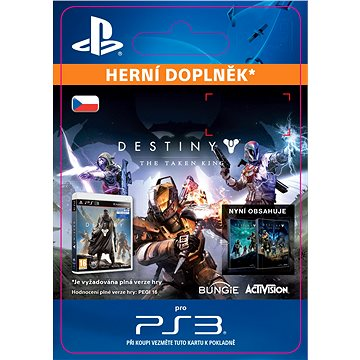 Destiny: The Taken King- SK PS3 Digital (SCEE-XX-S0023386)
