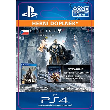 Destiny: Rise of Iron- SK PS4 Digital (SCEE-XX-S0026630)