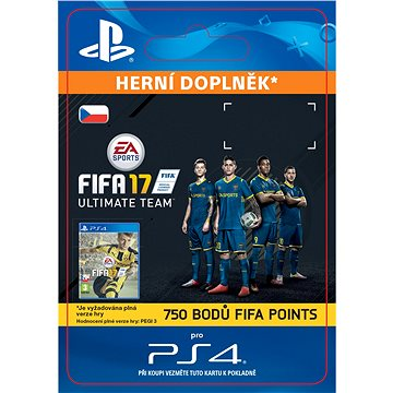750 FIFA 17 Points Pack- SK PS4 Digital (SCEE-XX-S0026845)