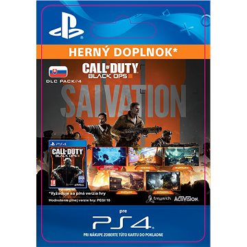 Call of Duty: Black Ops III - Salvation DLC- SK PS4 Digital (SCEE-XX-S0026492)