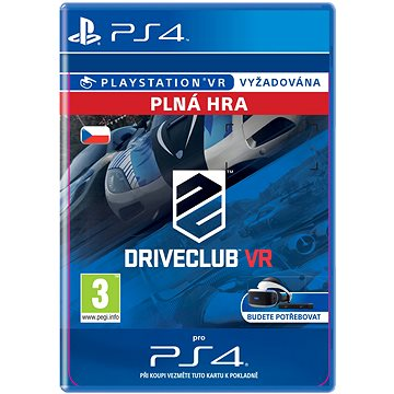 DRIVECLUB VR- SK PS4 Digital (SCEE-XX-S0027197)