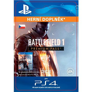 Battlefield 1 Premium Pass- SK PS4 Digital (SCEE-XX-S0027702)