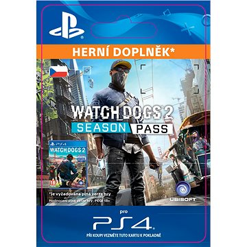 Watch Dogs 2 - Season Pass- SK PS4 Digital (SCEE-XX-S0027999)