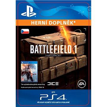 Battlefield 1 Battlepacks x 3- SK PS4 Digital (SCEE-XX-S0028331)