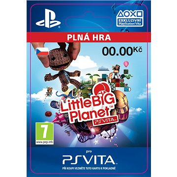 LittleBigPlanet PlayStation Vita Marvel Super Hero Edition- SK PS Vita Digital (SCEE-XX-S0028439)
