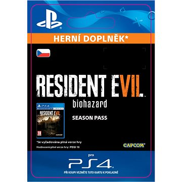 RESIDENT EVIL 7 biohazard Season Pass- SK PS4 Digital (SCEE-XX-S0029354)