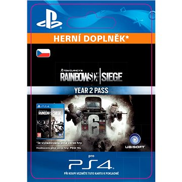 Tom Clancys Rainbow Six Siege Year 2 Pass- SK PS4 ESD (SCEE-XX-S0029713)