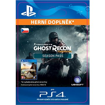 Tom Clancys Ghost Recon Wildlands - Season Pass - PS4 CZ Digital (SCEE-XX-S0029930)