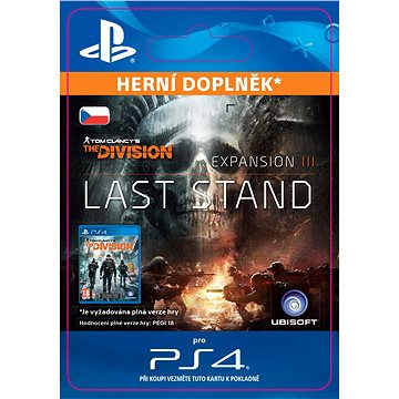 Tom Clancys The Division Last Stand - Season Pass - PS4 CZ Digital (SCEE-XX-S0029988)