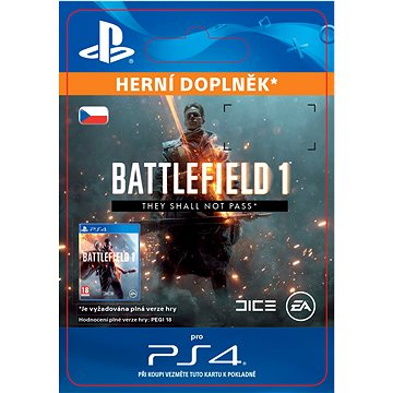 Battlefield 1 They Shall Not Pass - PS4 CZ Digital (SCEE-XX-S0030195)