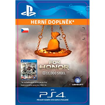 FOR HONOR 11 000 STEEL Credits Pack - PS4 CZ Digital (SCEE-XX-S0030302)