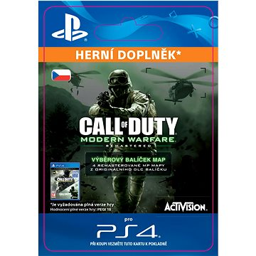 Call of Duty: MWR VARIETY MAP PACK - PS4 CZ Digital (SCEE-XX-S0030389)