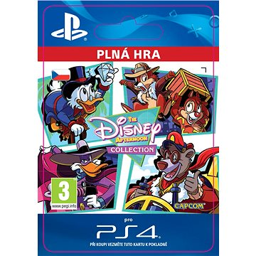 The Disney Afternoon Collection - PS4 CZ Digital (SCEE-XX-S0030659)