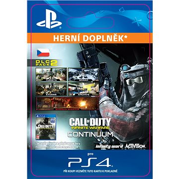 Call of Duty: Infinite Warfare - DLC 2: Continuum - PS4 CZ Digital (SCEE-XX-S0030772)