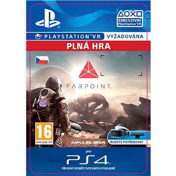 Farpoint - PS4 CZ Digital (SCEE-XX-S0030744)