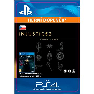 Injustice 2 Ultimate Pack - PS4 CZ Digital (SCEE-XX-S0030953)