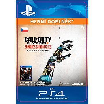 Call of Duty Black Ops III: Zombies Chronicles - PS4 CZ Digital (SCEE-XX-S0031036)