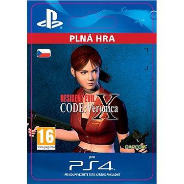 Resident Evil Code: Veronica X - PS4 CZ Digital (SCEE-XX-S0031003)