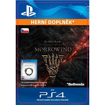 The Elder Scrolls Online: Morrowind Upgrade - PS4 CZ Digital (SCEE-XX-S0031164)