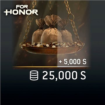 FOR HONOR 25 000 STEEL Credits Pack - PS4 CZ Digital (SCEE-XX-S0031283)