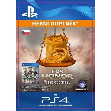 FOR HONOR 150 000 STEEL Credits Pack - PS4 CZ Digital (SCEE-XX-S0031199)