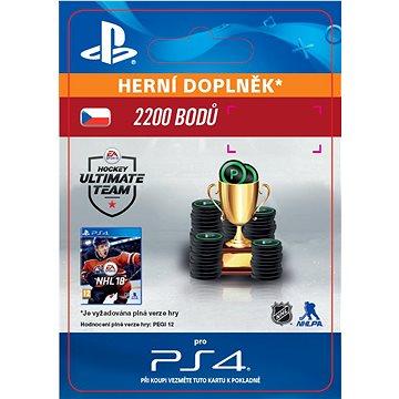 2200 NHL 18 Points Pack - PS4 CZ Digital (SCEE-XX-S0033390)