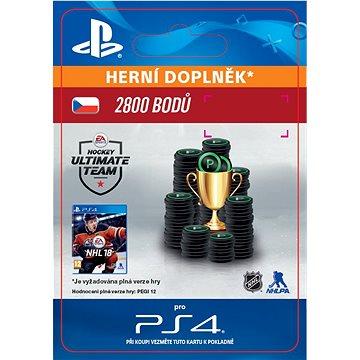 2800 NHL 18 Points Pack - PS4 CZ Digital (SCEE-XX-S0033356)