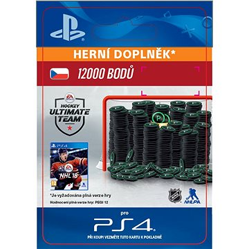 12000 NHL 18 Points Pack - PS4 CZ Digital (SCEE-XX-S0033494)