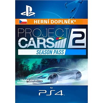 Project CARS 2 Season Pass - PS4 CZ Digital (SCEE-XX-S0033567)