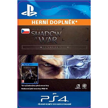 Middle-earth: Shadow of War Expansion Pass - PS4 CZ Digital (SCEE-XX-S0034057)